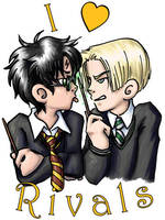 Harry Potter - I heart Rivals by ScuttlebuttInk