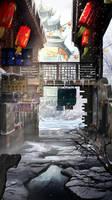 snow by RdRabbit