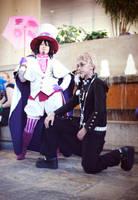 Mephisto and Fujimoto by wisecraxx