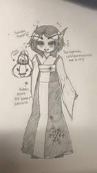 Little 6 year old Seraphina by FaerianaShalanor