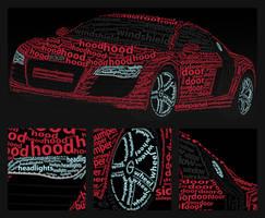 Audi R8 by adit