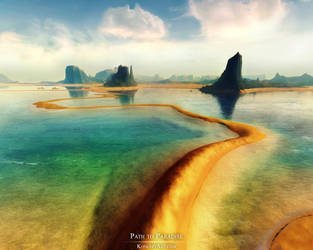 -Path to Paradise- by adit