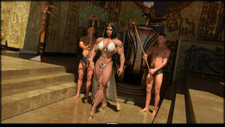 Nefertete ThroneRoom by Tigersan