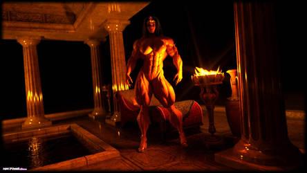Nefertete Nude by Tigersan