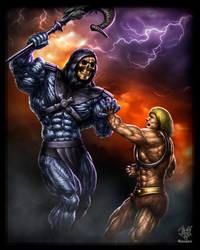 Skeletor by Tigersan