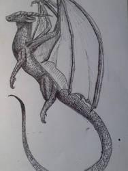 Black Dragon by icedragon78970
