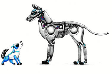 Mechanical Dogs by icedragon78970