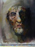 old lady  by nickbleb