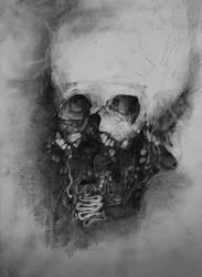 skull by nickbleb