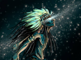 Sketch 49 -- Starchild by ArhyaM