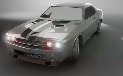 Muscle car by keldererik