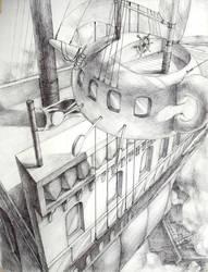 A Teapot Ship Meets Company by lantix