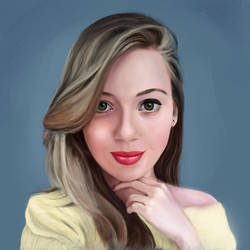 portrait study 6 by Nelsonito