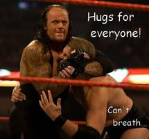 Undertaker's Hug of DEATH by BluecheetahX3