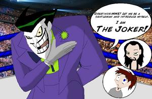 Joker in the WWE? by BluecheetahX3