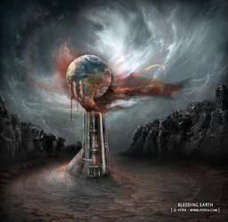 Bleeding Earth by PSYXXARTS