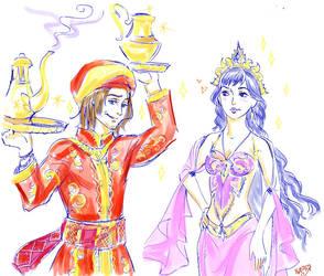 Tamina and Dastan by TatianaOnegina