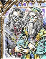 Gellert and Albus by TatianaOnegina