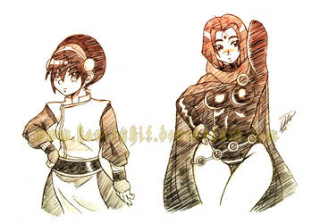 Com 18 Toph and Raven by GH07