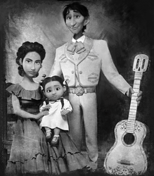 imelda and hector coco family by matutemissy