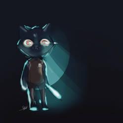 Night by ArtRabbitIllustrates