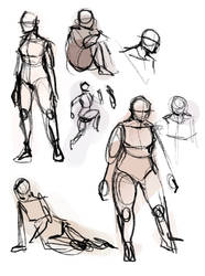 Figures by ArtRabbitIllustrates