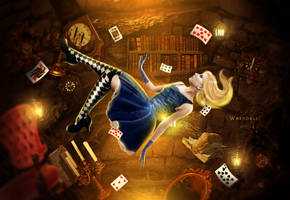 ALICE FALLING by Whendell