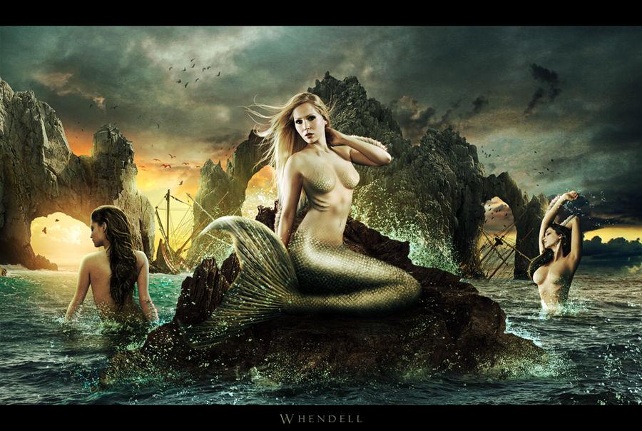 Mermaids by Whendell