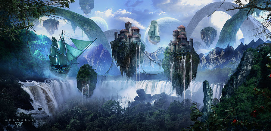 Mysterious Lands by Whendell