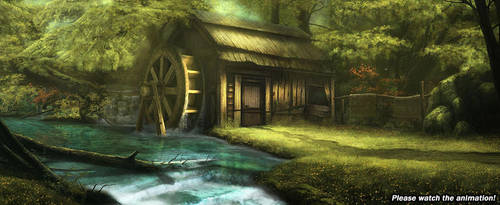 Watermill Animation by ColdFlame1987