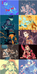 Colour palette challenge (PL + AA) by anocurry
