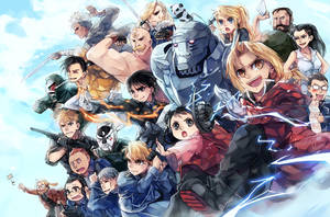 Fullmetal Alchemist by anocurry