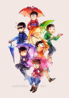 Osomatsu-san by anocurry