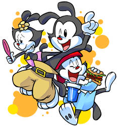 ANIMANIACS by amekotoba