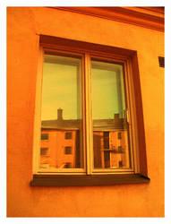 Orange Window by Xaviaro