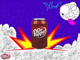 Dr Pepper Rocket by mannysmyname