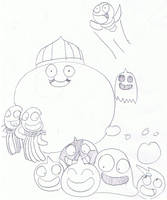 Super Railers' Slime Cast by mannysmyname