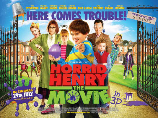 Horrid Henry The Movie Ver12 by DoctorManny