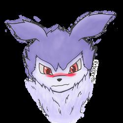 Blushing Purple cutie by bestlim10