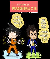 DBZ SO POWERFUL by EvilCreampuff