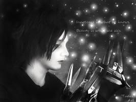 I am, Edward Scissorhands by Eternalinpeace