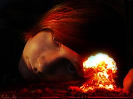 Asleep underneath the Mushroom by Eternalinpeace