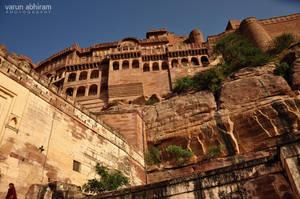 Mehrangarh Fort by varunabhiram
