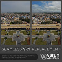 Seamless Sky Replacement by varunabhiram