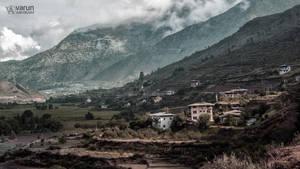 Paro Landscape by varunabhiram
