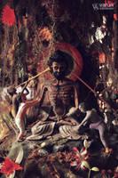 Sage in Clay by varunabhiram
