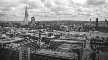 London Cityscape by varunabhiram