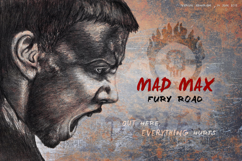 Mad Max: Fury Road - Imperator Furiosa by varunabhiram
