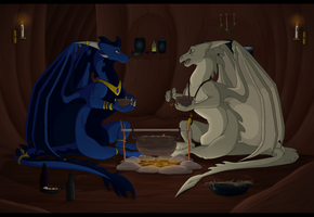 Meal For Two by DraconicXeno515