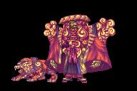 Summon - Yojimbo and Daigoro by AbyssWolf